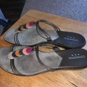 Women's sandals 11m Covington brand
